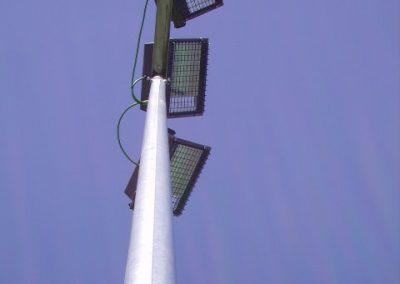 Iluminación de pistas deportivas
