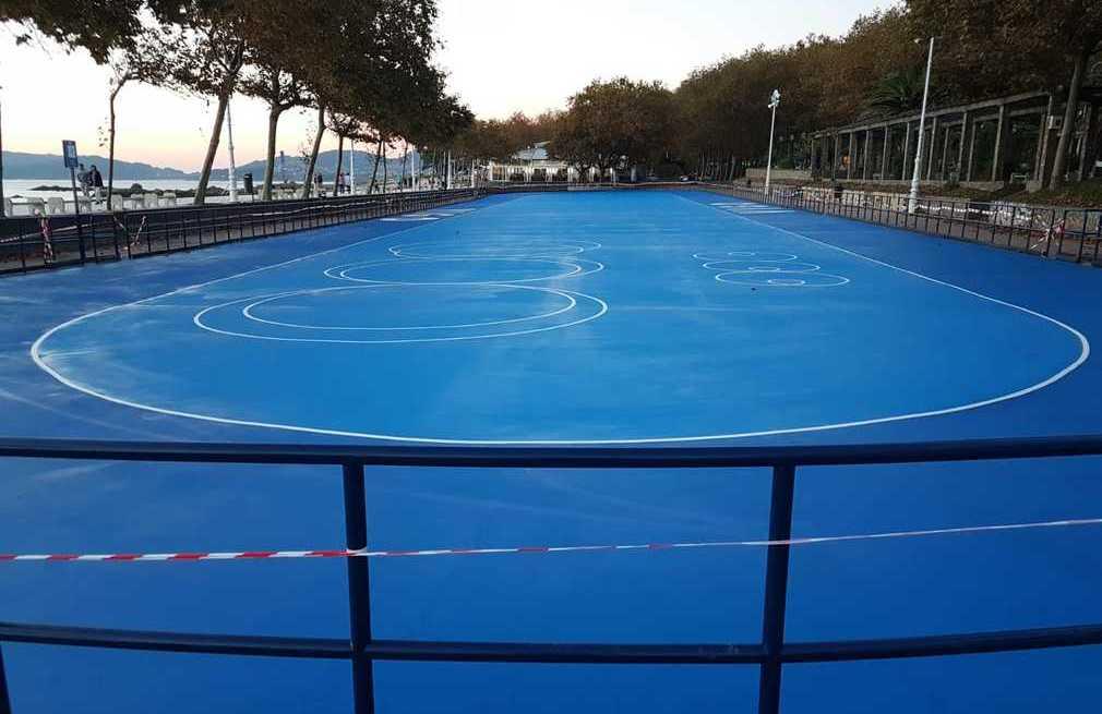 Pista de patinaje y skate en Vigo