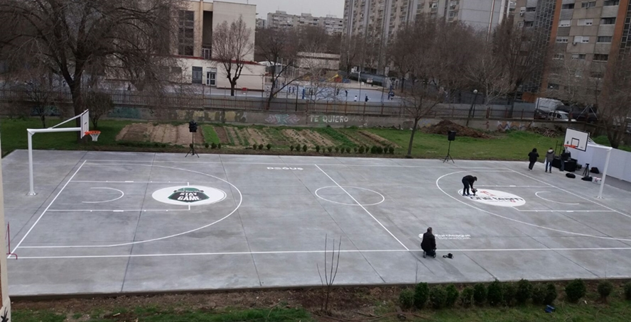 Cancha Baloncesto FIBA